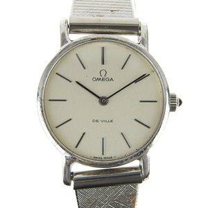 Genuine OMEGA Omega devil ladies hand-rolled wristwatch Cal.625