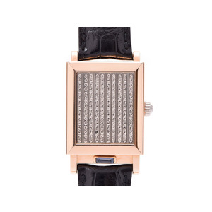 Vacheron Constantin Jaruza White Dial 91003 / 000B-8397 Men's PG Leather hand-rolled wristwatch A rank 美 品 VACHERON CONSTANTIN second hand silver storage