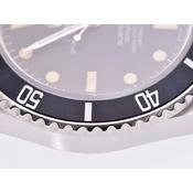 ロレックス サブマリーナ 黒文字盤 16800 針交換 メンズ SS トリチウム 自動巻 腕時計 ABランク 美品 ROLEX 中古 銀蔵