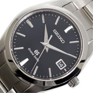 Seiko SEIKO Grand SBGX 049 quartz black men's watch finished
