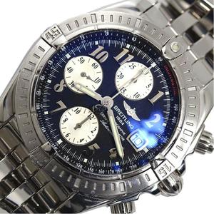 Breitling BREITLING Chrono mat Evolution A 13356 Automatic winding black men's watch finished