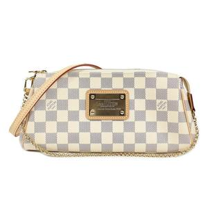 Louis Vuitton Damier Azur Eva N 55214 shoulder bag clutch LOUISVUITTON Women's