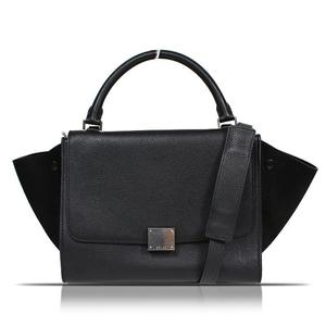 Celine Trades Small 174683 Black Handbag Women's