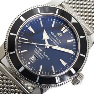 Breitling BREITLING Super Ocean Heritage 46 A17320 Automatic Blue Men's Wrist Watch