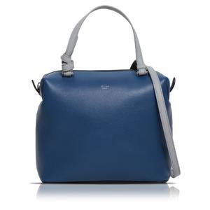 Celine CELINE Soft Cube Small 181613 Blue × Gray Shoulder Bag Women's