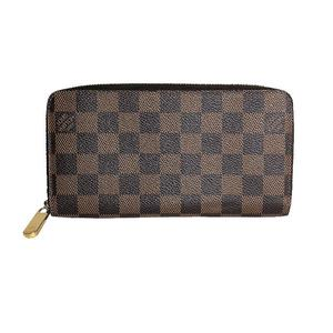 Louis Vuitton Damier Zippy · Wallet N60015 Men's Women's LOUIS VUITTON
