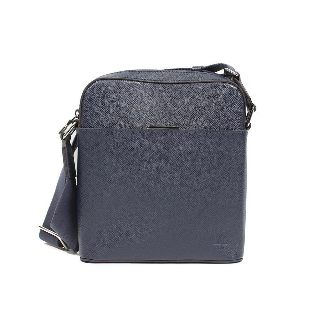 recherche de véritables beaucoup de styles style classique de 2019 Louis Vuitton Taig Anton · Pochette Blue Marine Mens Shoulder Bag  LOUISVUITTON | eLady.com
