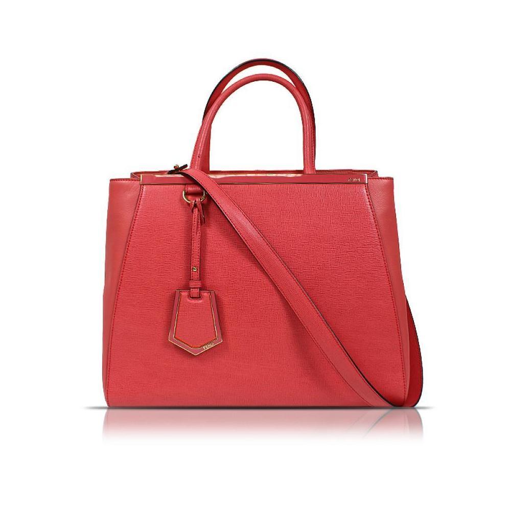 Fendi FENDI Too Jules 2 Way Tote Bag 8 BH 250 D 7 E Pink Calf