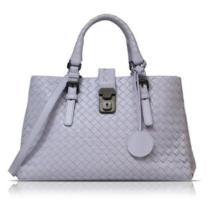 Bottega Veneta BOTTEGA VENETA Intrecciato Roma bag 337303 Light purple shoulder Women's