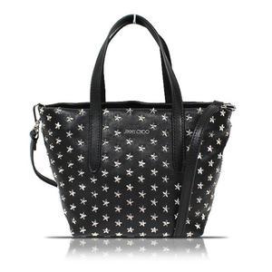 Jimmy Choo JIMMY CHOO Mini Sarah 2 Way Bag J000055966001 Black Handbag
