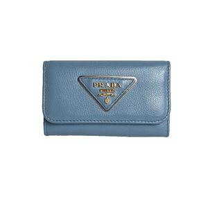 PRADA 6 consecutive key case 1 PG 222 calf ASTRALE Gold fittings ladies