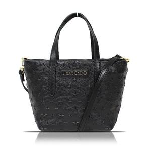 Jimmy Choo JIMMY CHOO Mini Sarah 2 Way Bag J000055969001 Black Handbag