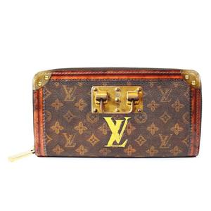 Louis Vuitton Monogram trunk time Zippy · Wallet M66553 Ladies LOUISVUITTON