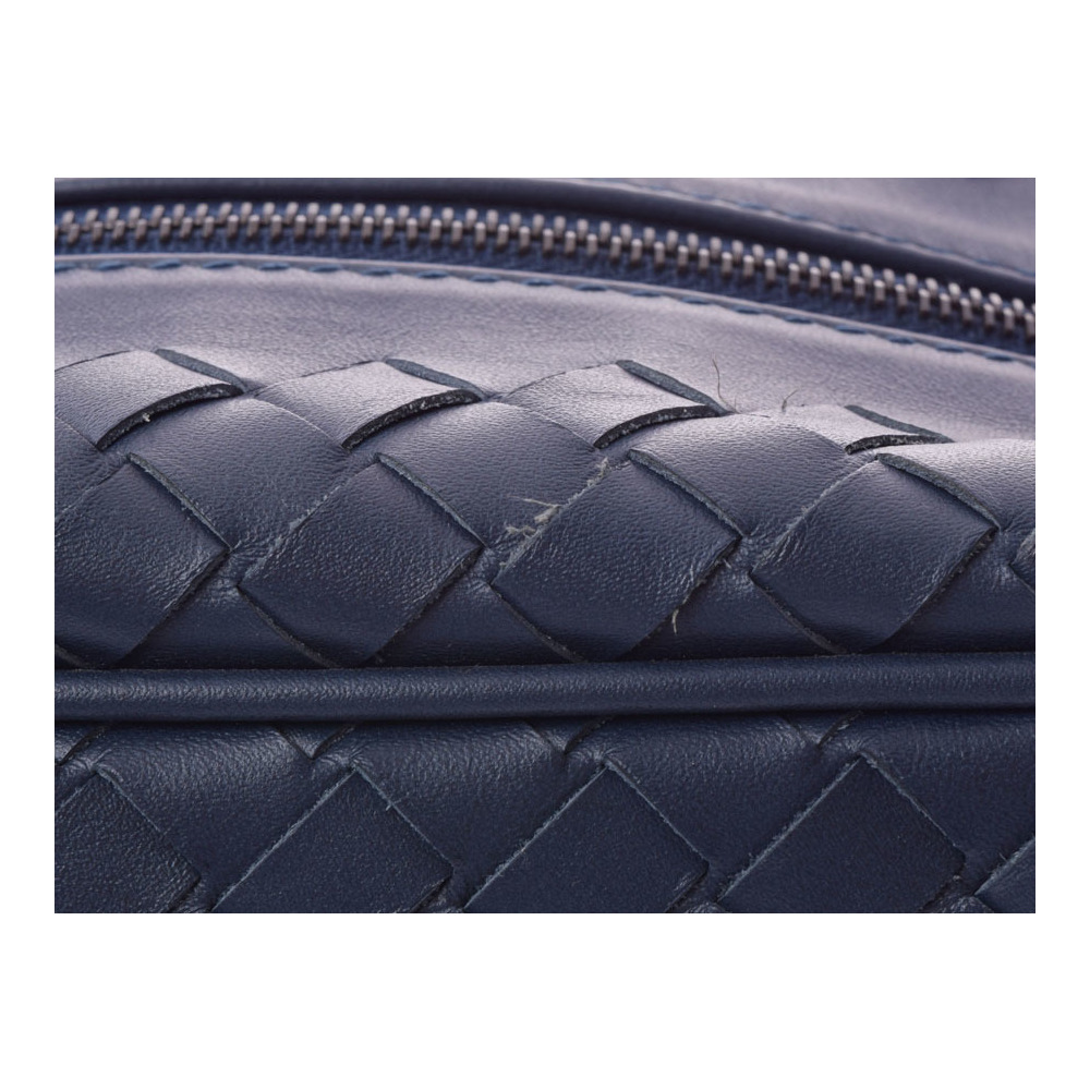 Bottega Veneta Second Bag Leather Blue Intorechat Men s Pouch A rank ... fd9166daae224