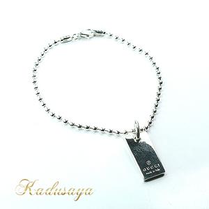 7abd4ac7644 Heart motif Paul Necklace Bracelet 925 Silver Accessories 0226 GUCCI  Women s.  185 · WISHLIST · GUCCI Gucci dog tag plate   ball chain bracelet  17 cm SV 925 ...