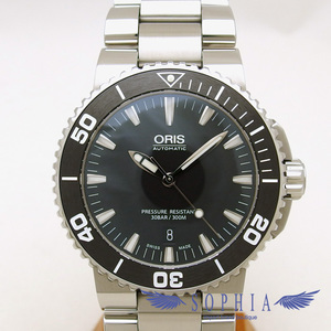 Oris Aquis Date Divers watch automatic winding 20181108