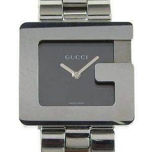 Genuine GUCCI Gucci G Square Face Boys Quartz Watch Black Letter Model Number: 3600J