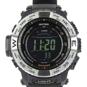 Real CASIO Casio Pro Trek Men's Radio Solar Watch PRW-3510