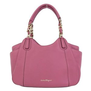 Salvatore Ferragamo Real FERRAGAMO Ferragamo Leather Handbag Pink Bag