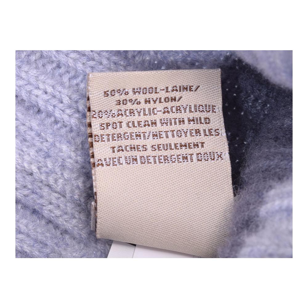 アグ ハット/ミトン ギフトセット グレー 2-4歳 キッズ ニット 帽子 手袋 未使用 美品 UGG 箱 中古 銀蔵