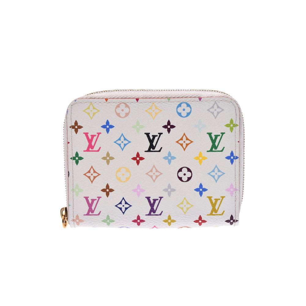 42845340ff3d Louis Vuitton multi color zippy coin purse white rich M93741 ladies case AB  rank LOUIS VUITTON ...