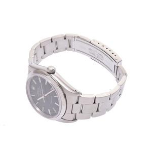 ロレックス エアキング 黒文字盤 14000 N番 メンズ SS 自動巻 腕時計 Aランク 美品 ROLEX 箱 ギャラ 中古 銀蔵