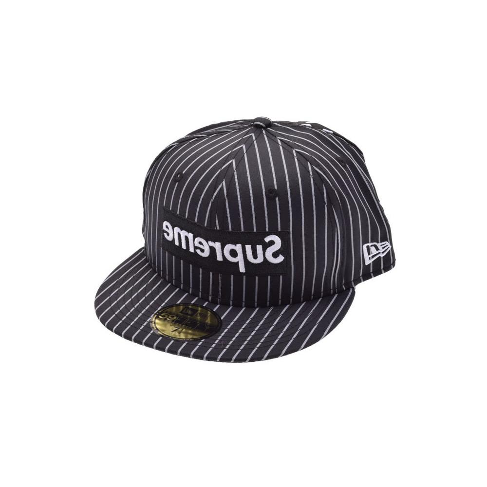578b4121f5b Supreme Garcon Collaboration New Error Cap Size 7 1 4 Black Men s Cotton  100% Hat ...