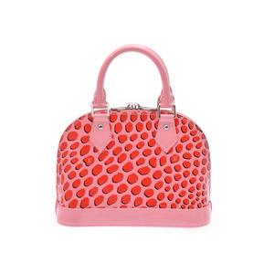 ルイ・ヴィトン(Louis Vuitton) ルイヴィトン ヴェルニ ジャングルドット アルマBB ピンク/赤 M41996 レディース 2WAYハンドバッグ 未使用 美品 LOUIS VUITTON ストラップ付 中古 銀蔵