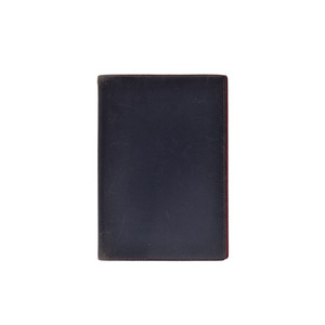 Hermes Agenda GM Navy / Red Mens Ladies Courchevel notebook cover
