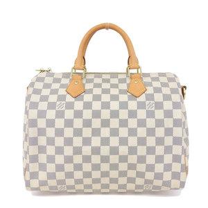 546b8d72b Real LOUIS VUITTON Louis Vuitton Damier Azur Speedy Band Riere 30 Model  Number: N41001 Bag
