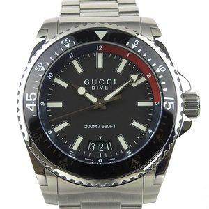 Genuine GUCCI Gucci Dive Mens Quartz Wrist Watch Model Number: 136.2
